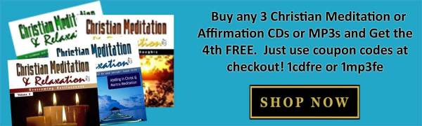 Shop for Christian Meditation and Affirmation Cds and Downloads