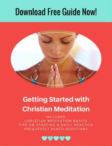 free guide to christian meditation