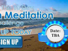 The 10 Day- Christian Meditation Challenge
