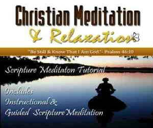scripture meditation cd