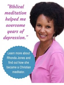 rhonda jones, christian meditation