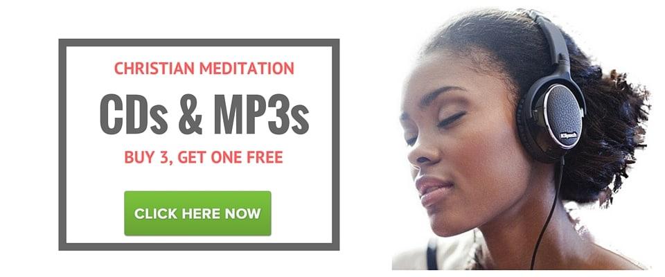 Christian meditation Cds and Mp3s