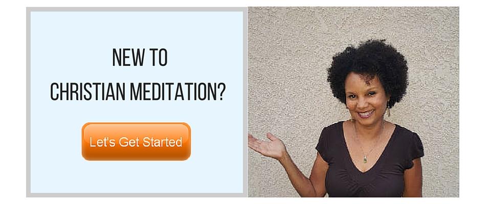 New to Christian Meditation