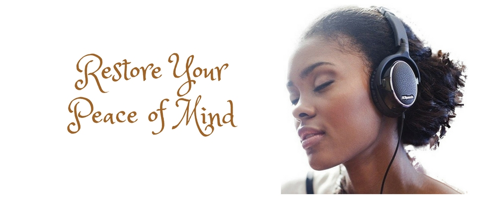 Christian meditation and restoring peace of mind