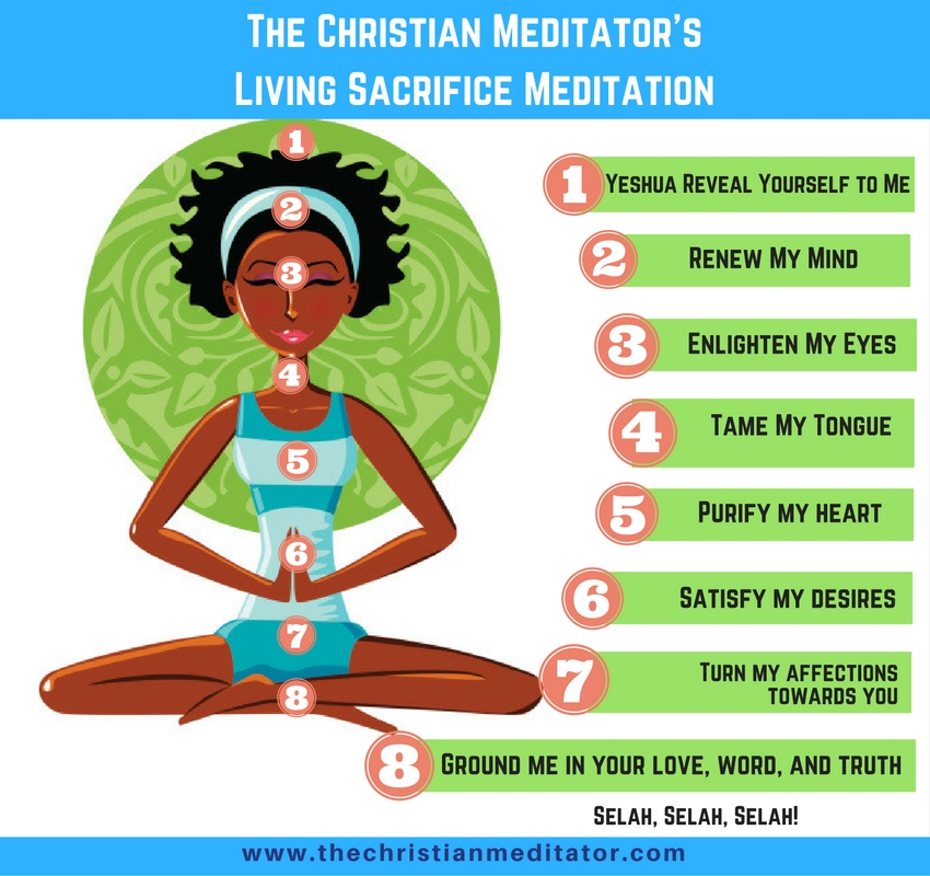 the christian meditator living sacrifice meditation