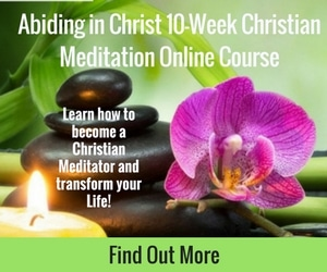 christian meditation course