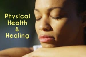 Physical health and healing Christian meditation