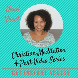 meditation for christians video series