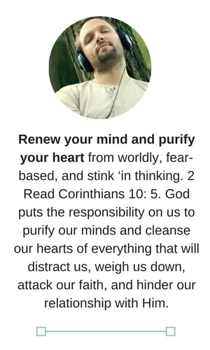 A date with God renew your mind