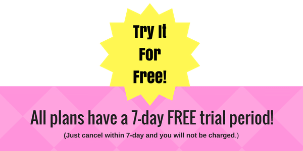 7 day free trial, christian meditation listening library